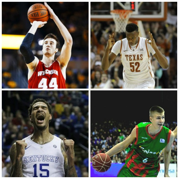 The Bigs After the Big Two: Wille Cauley-Stein, Myles Turner, Frank Kaminsky, and KristapsPorzingis